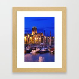 Cathedral lights Framed Art Print