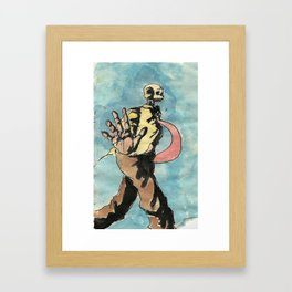 No pictures, please. Framed Art Print