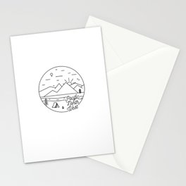 Pacific Northwest 2 Stationery Cards