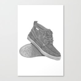These Old Shoes! Canvas Print