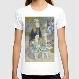 Auguste Renoir - Mother and Children T-shirt