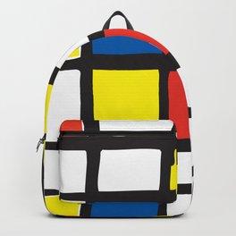 Mondrian Variation 1 Backpack