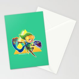Link - The hero of light Stationery Cards