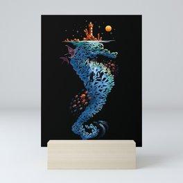 dream in blue Mini Art Print