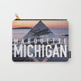 Marquette Postcard Carry-All Pouch