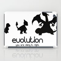 evolution iPad Cases featuring evolution by Ainy A.