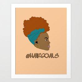 #hairgoals Art Print