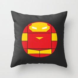 Iron Man | Projekt Sirkols Throw Pillow