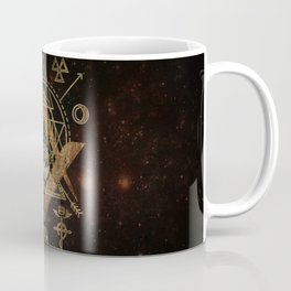 Mystical Sacred Geometry Ornament Coffee Mug
