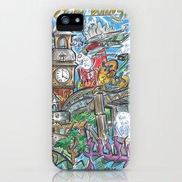 PTBO Mashup iPhone Case