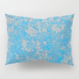 Aqua Green Background Pillow Sham