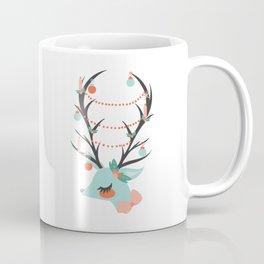 Retro Reindeer Coffee Mug