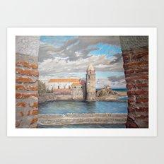 Collioure CC05-01 Art Print