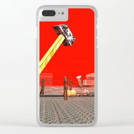 Squared: Legasy Of Red Clear iPhone Case