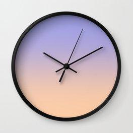 Lavender & Lilacs Wall Clock