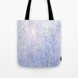 Winter Sparkle On A Sunny Frosty Day #decor #buyart #society6 Tote Bag