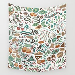 Nuts And Nature Wall Tapestry