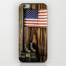 In Gratitude To Our Country and Military People iPhone Skin