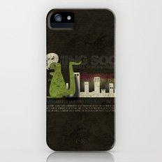 Dinosaur in the City iPhone (5, 5s) Slim Case