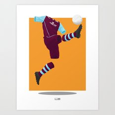 Burnley 2013/14 -  Art Print