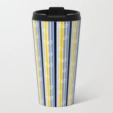 flower stripe Travel Mug