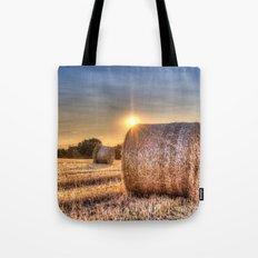 Summer Evening Farm Tote Bag