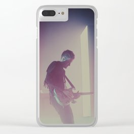 Adam Hann (The1975) Clear iPhone Case
