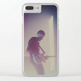 Adam Hann (The1975) Clear iPhone Case
