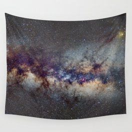 The Milky Way: from Scorpio, Antares and Sagitarius to Scutum and Cygnus Wall Tapestry