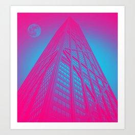 John Hancock Building in Chicago 1 Art Print