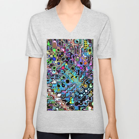 Colorful Chaotic Shapes by perkinsdesigns