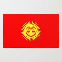 Kyrgyzstan country flag Rug