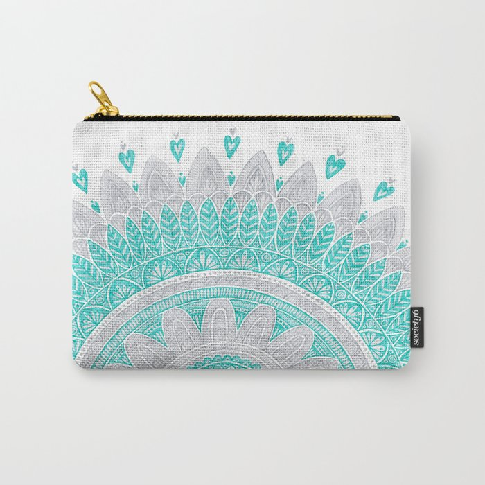 FLOWER. Carry-All Pouch