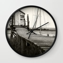 Jetty Lock-up Wall Clock