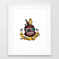 stay gold Framed Art Prints featuring Stay Gold by Chris Laistler