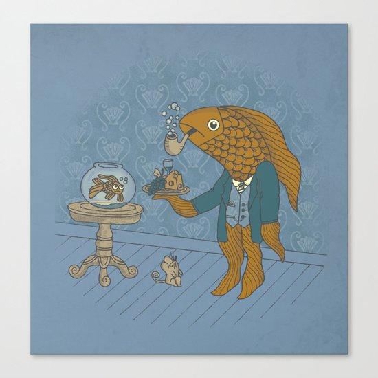 Big Eyed Fish Canvas Print