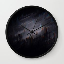 sound of the city Wall Clock
