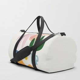 Abstraction_Floral_002 Duffle Bag