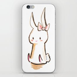 Bow Tie Bunny iPhone Skin