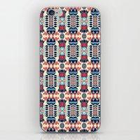 camp iPhone & iPod Skins featuring Camp by Daniac Design
