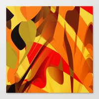 spice Canvas Prints featuring pumpkin spice by David Mark Lane