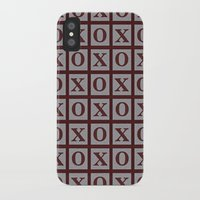 xoxo iPhone & iPod Cases featuring XOXO by LLL Creations