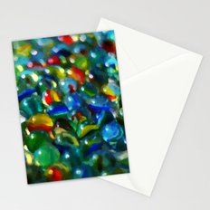 Marbles... Lost & Found - Painting Style Stationery Cards