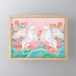 Unicorn dream Framed Mini Art Print