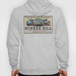 Bunker Hill Clipper Ship Card Hoody