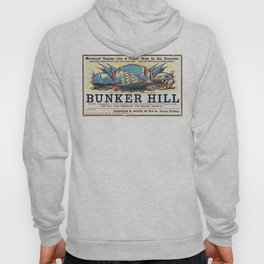 Bunker Hill Clipper Ship Card Hoody