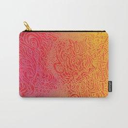 Raspberry Sunrise Carry-All Pouch