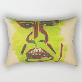A Disgusted Self Rectangular Pillow