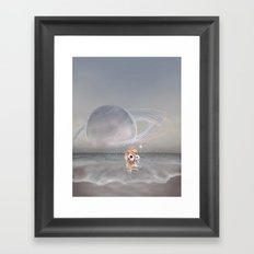 How did I get here, how can I go home. Framed Art Print
