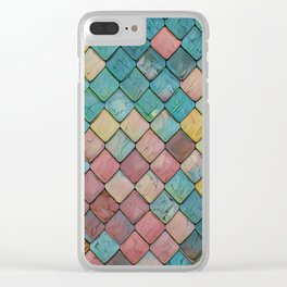 Magic Dragon Scales Clear iPhone Case